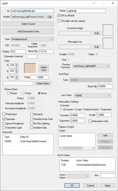 Light - Creation Kit